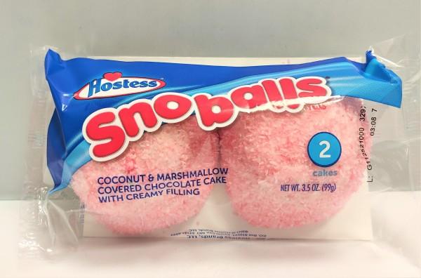 Hostess Snoballs Fun Color