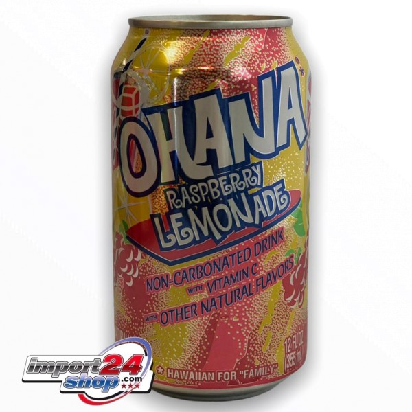 Ohana Raspberry Lemonade (Dose) (355ml.)