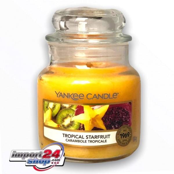 Yankee Candle Klassik Kleines Glas Tropical Starfruit