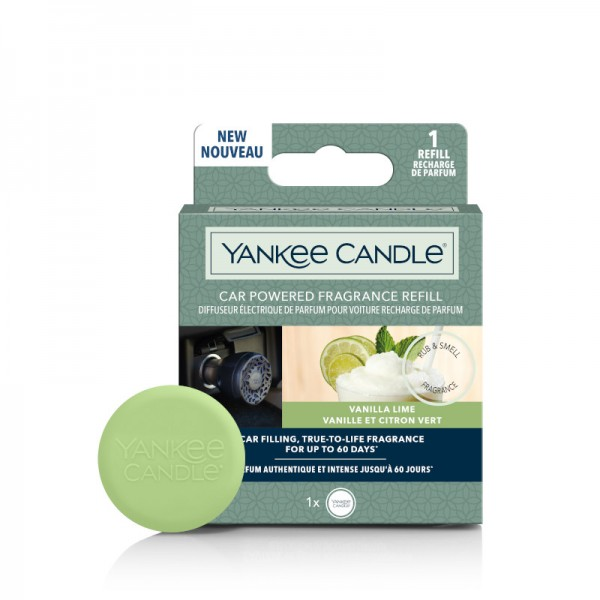 Yankee Candle CAR POWERED FRAGRANCE REFILL Vanilla Lime