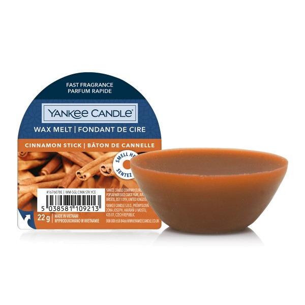 Yankee Candle Wax Melt Cinnamon Stick