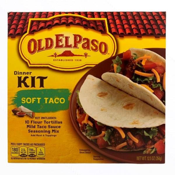 Old El Paso Taco Dinner Kit Soft