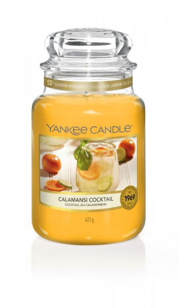 Yankee Candle Classic Großes Glas Calamansi Cocktail