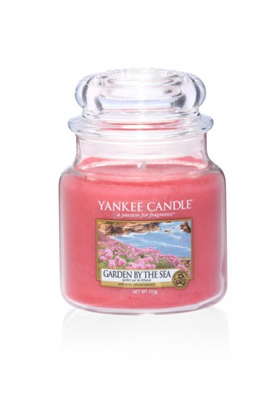 Yankee Candle Classic Mittleres Glas Garden by the Sea