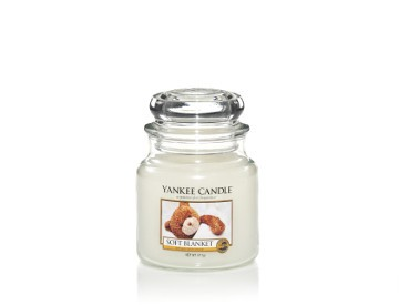 Yankee Candle Classic Mittleres Glas Soft Blanket