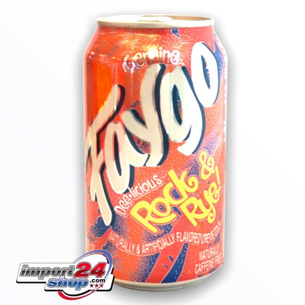 Faygo - Rock and Rye (Dose) (355ml.)