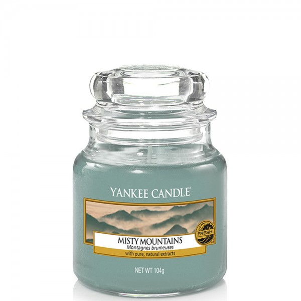 Yankee Candle Classic Kleines Glas Misty Mountains