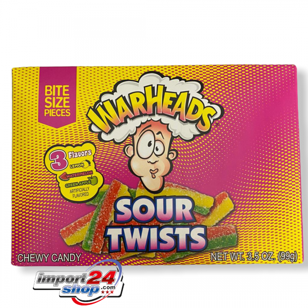 Warheads Sour Twists - Box