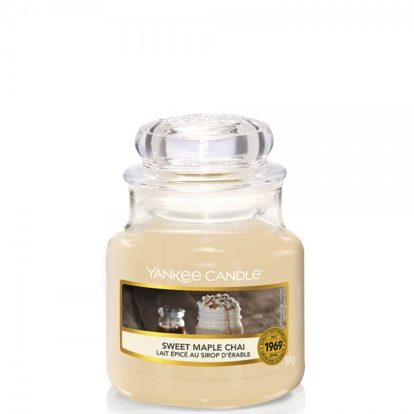 Yankee Candle Classic Kleines Glas Sweet Maple Chai