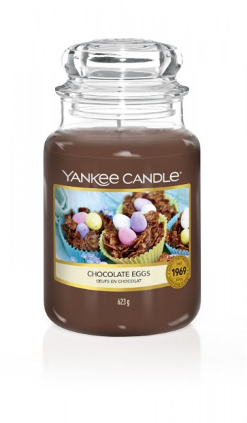Yankee Candle Classic Großes Glas Chocolate Eggs
