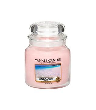 Yankee Candle Klassik Mittleres Glas Pink Sands™