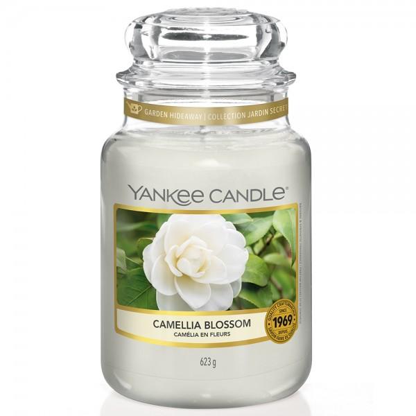 Yankee Candle Klassik Großes Glas Camellia Blossom