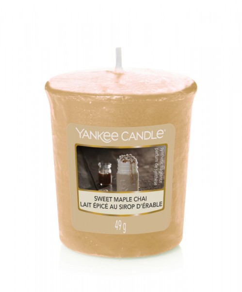 Yankee Candle Votive Sweet Maple Chai