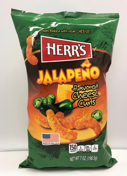 Herr´s Jalapeno Flavored Cheese Curls