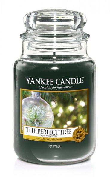 Yankee Candle Classic Großes Glas The Perfect Tree