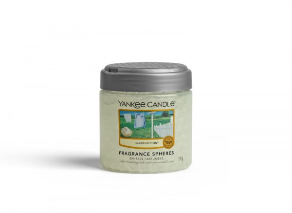 Yankee Candle Fragrance Spheres Clean Cotton