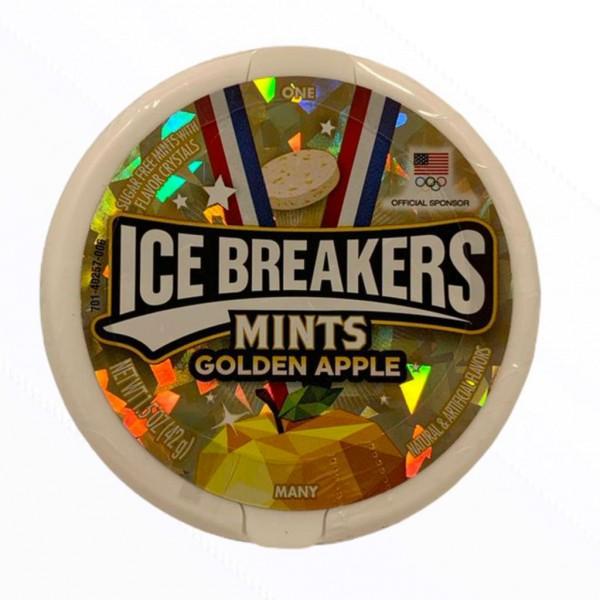 Ice Breakers Mints Golden Apple