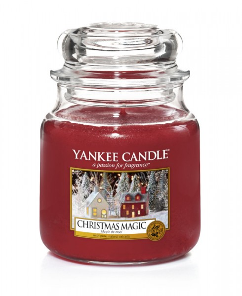 Yankee Candle Classic Mittleres Glas Christmas Magic