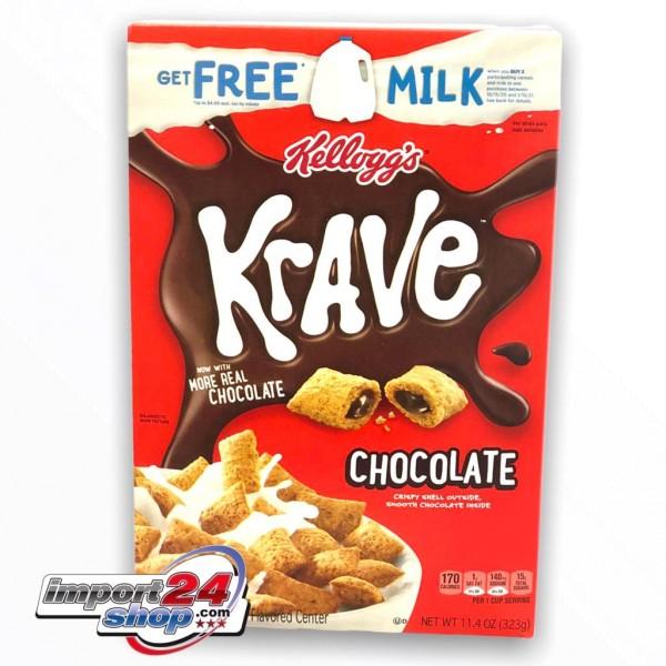 Kellogg's Krave Double Chocolate