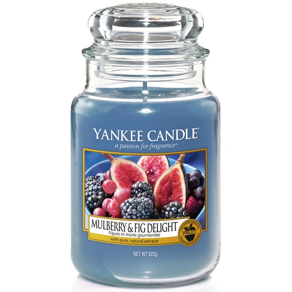 Yankee Candle Classic Großes Glas Mulberry & Fig Delight