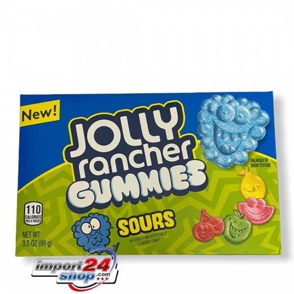 Jolly Rancher Sour Gummies Box
