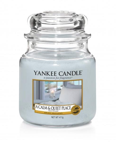 Yankee Candle Klassik Mittleres Glas A Calm & Quiet Place