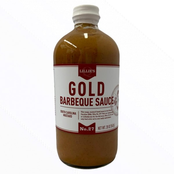 Lillie`s Gold Barbecue Sauce-Copy