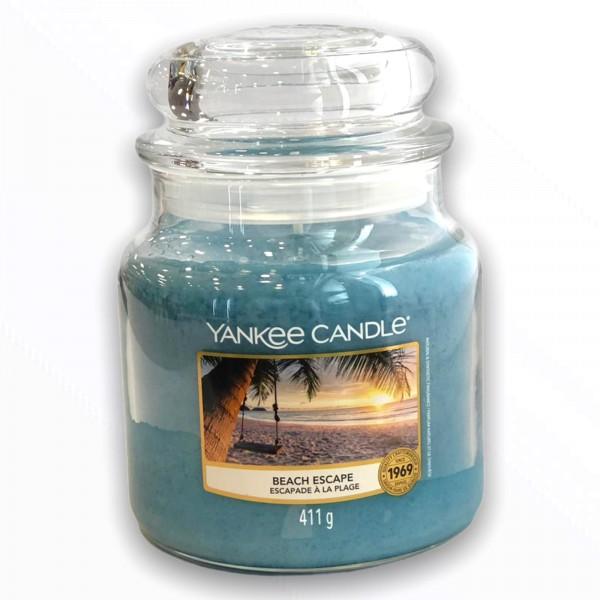 Yankee Candle Klassik Mittleres Glas Beach Escape