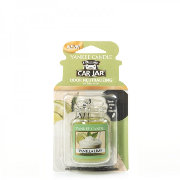 Yankee Candle Car Jar Ultimate Vanilla Lime