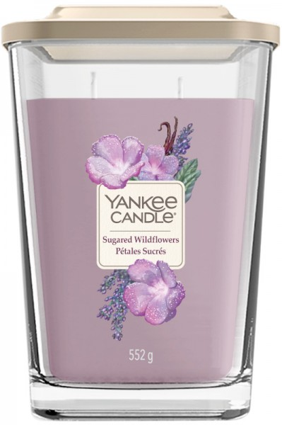 Yankee Candle Elevation Groß Sugared Wildflowers