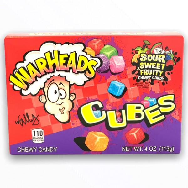Warheads Sour Cubes - Box