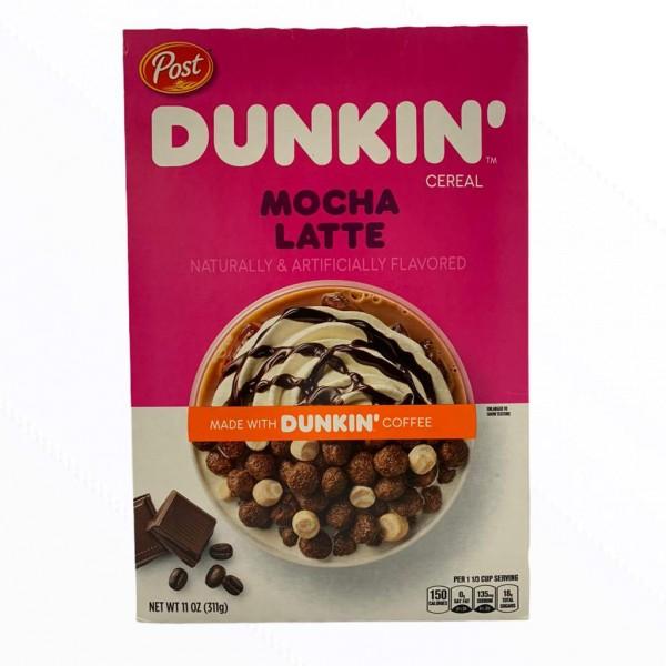 Post Dunkin Mocha Latte 311g