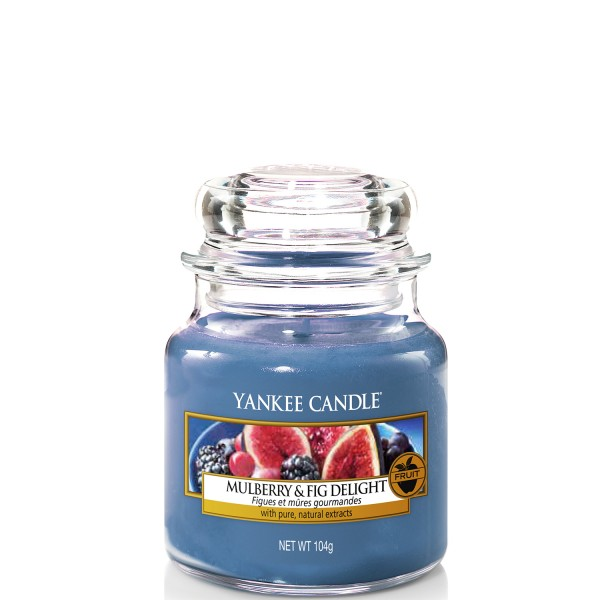 Yankee Candle Classic Kleines Glas Mulberry & Fig Delight