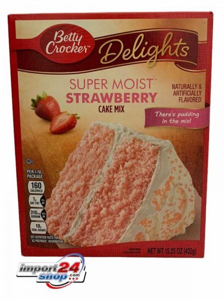 Betty Crocker Cake - Strawberry (432 g.)