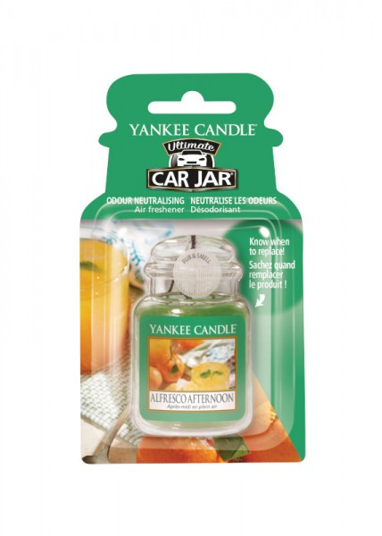 Yankee Candle Car Jar Ultimate Alfresco Afternoon