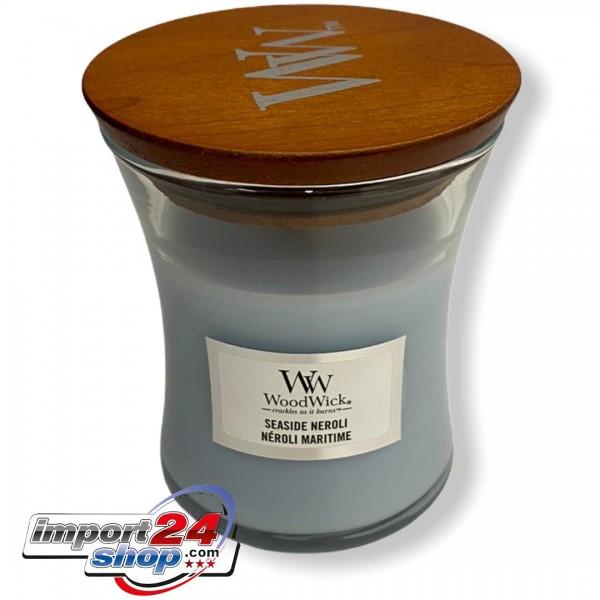 Wood Wick Kleines Glas SEASIDE NEROLI