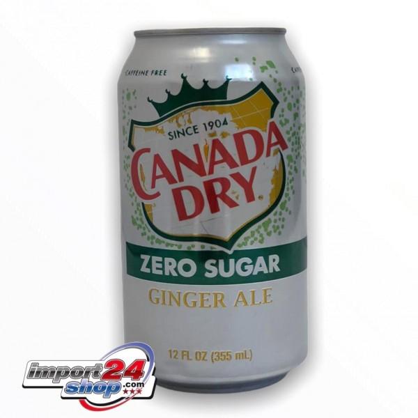 Canada Dry Ginger Ale Zero Sugar (Dose) (355 ml.)