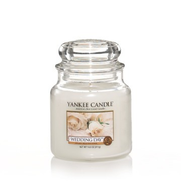Yankee Candle Classic Mittleres Glas Wedding Day®