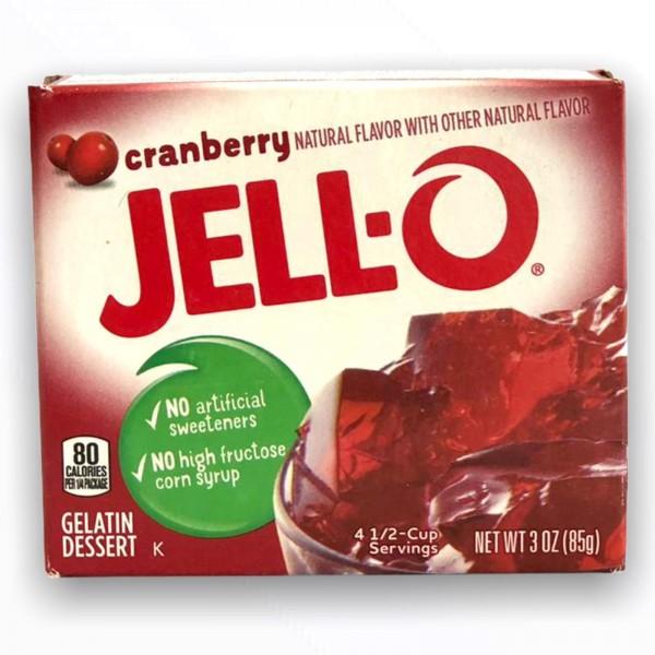Jell-O Cranberry