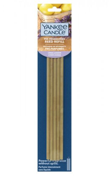 Yankee Candle Vorbeduftete Reeds Nachfüllpackung Lemon Lavender