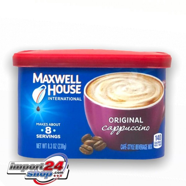 Café-Style Beverage Mix Original Cappuccino