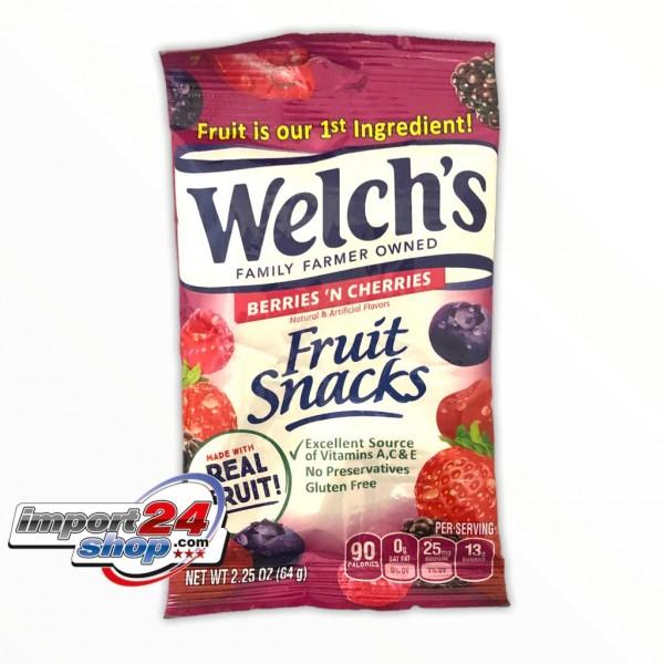 Welchs Fruit Snack Berries N´ Cherries