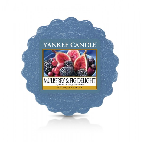 Yankee Candle Wax Tart Mulberry & Fig Delight
