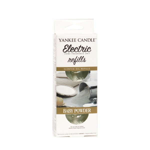 Yankee Candle Scent Plug Refill Baby Powder