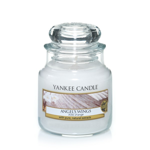Yankee Candle Classic Kleines Glas Angel's Wings