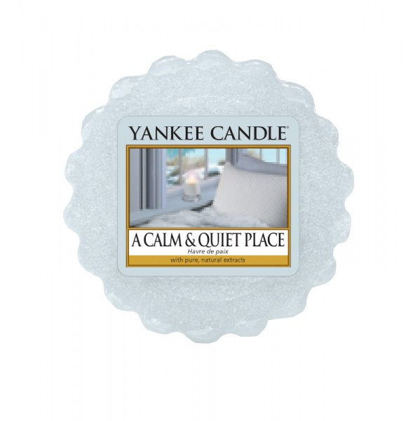 Yankee Candle Wax Tart A Calm & Quiet Place