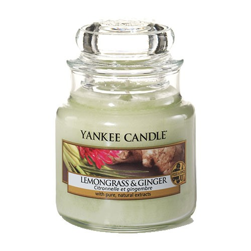 Yankee Candle Classic Kleines Glas Lemongrass & Ginger