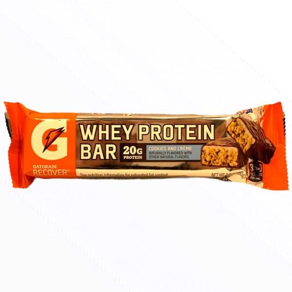 Gatorade Cookies and Creme Whey Protein Bar
