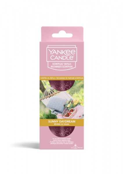 Yankee Candle EHF Peg Twin Pack Sunny Daydream