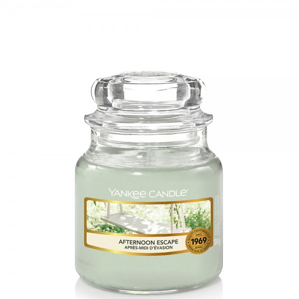 Yankee Candle Classic Kleines Glas Afternoon Escape